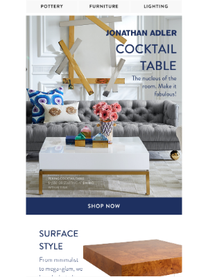 Slide Your Sofa a Cocktail