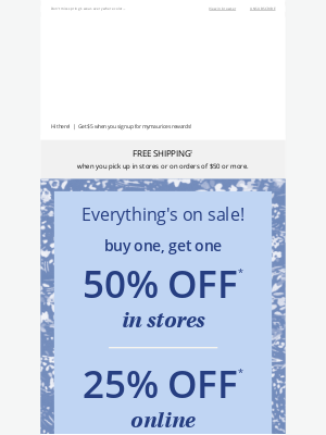 Maurices - 25% off sitewide + NEW spring collection! 💙
