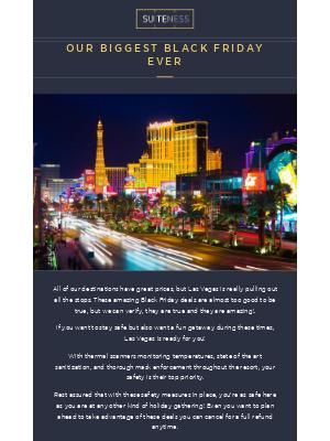 Suiteness - Black Friday Deals – 25% off Las Vegas 🏨