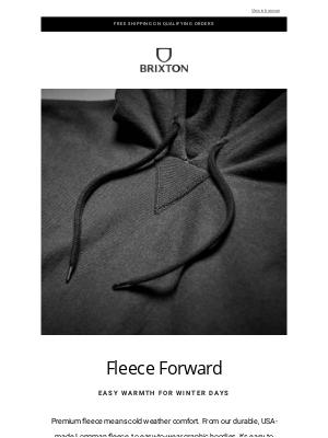 Brixton LLC - Fleece Forward
