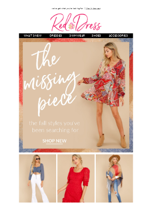 Red Dress Boutique - the missing piece ❤️
