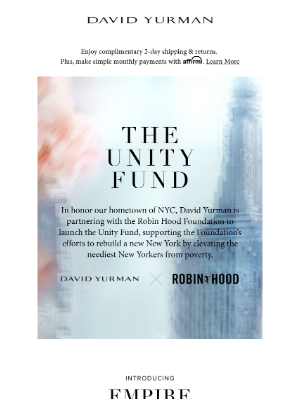 David Yurman - Introducing Our Unity Fund & Empire Collection