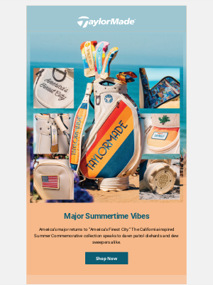 TaylorMade Golf - Major Summertime Vibes