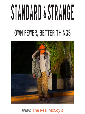Standard & Strange - NEW & RESTOCK: The Real McCoy's