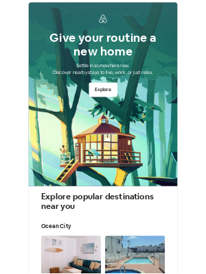 Airbnb - Matthew, turn the everyday into a getaway