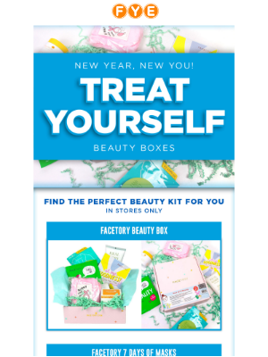 f.y.e. - New Year, New You!😍