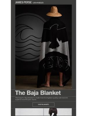 James Perse Ent. - The Baja Blanket