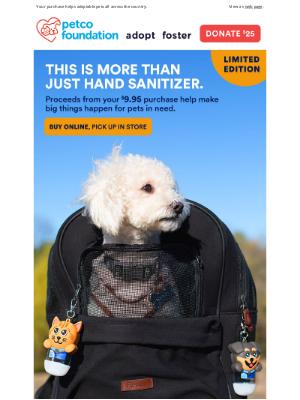 Petco - $9.95 to save pet lives 🐶 🐱