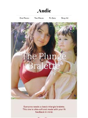 Andie - Meet The Plunge Bralette