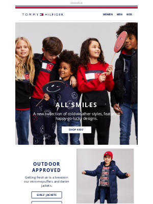 Tommy Hilfiger - Just landed from the kids collection!