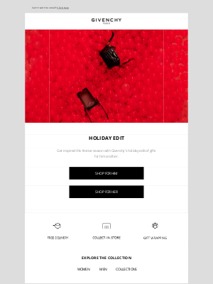 Givenchy - Introducing the Givenchy Holiday Edit