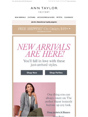 You'll Love These NEW ARRIVALS!