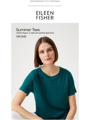 EILEEN FISHER - Your Summer Tee