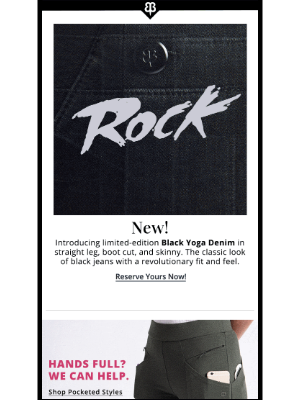 Betabrand - New Yoga Denim - Limited Availability!
