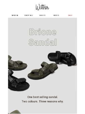 Our Best Selling Sandal