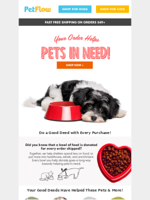 Order Today & Help Pets in Need!