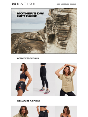 P.E NATION (AU) - MOTHER'S DAY GIFT GUIDE