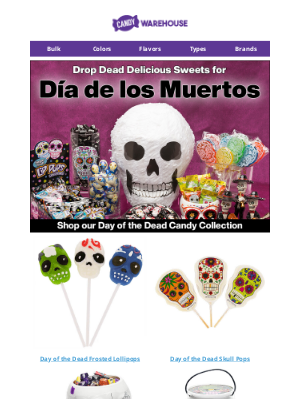 CandyWarehouse - Shop Day of the Dead Candy 💀