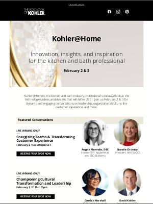 Kohler Co. - Leadership lessons from the Dallas Mavericks, Apple and Burberry