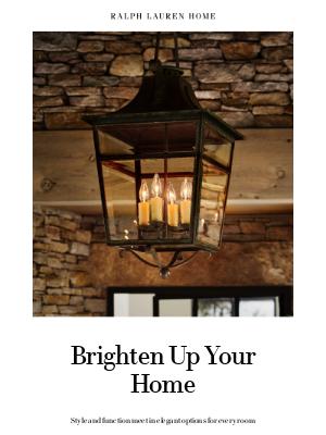 Ralph Lauren - New Lighting to Refine Your Space