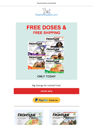 Canada Pet Care - ENDING SOON - Get FREE Frontline Plus Supplies Today