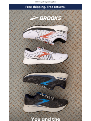 Brooks Running - You're #1. And so is this shoe.