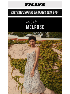 Tillys - West Of Melrose ❤️ Crushing On NEW