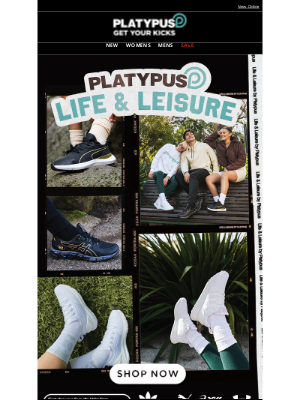 Platypus Shoes (AU) - Life & Leisure by Platypus 🏃🍃
