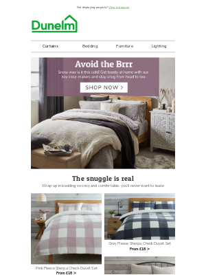 Dunelm (UK) - LOOK INSIDE: The snuggle is real 🐻