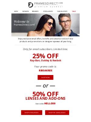 FramesDirect - Welcome to FramesDirect.com!
