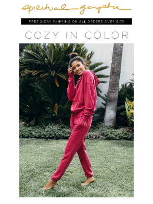 Spiritual Gangster - Cozy In Color ❤️ New Holiday Hues