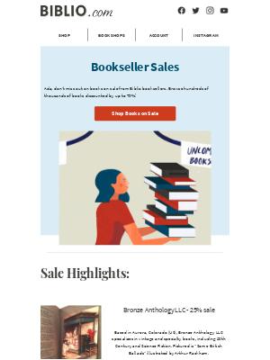 Biblio - Browse the stacks of discounted books on Biblio!