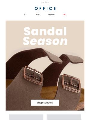 OFFICE Shoes (UK) - Sandal Season