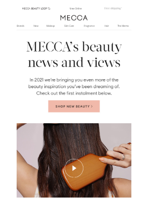 MECCA Brands (AU) - How to reapply sunscreen over makeup 💁