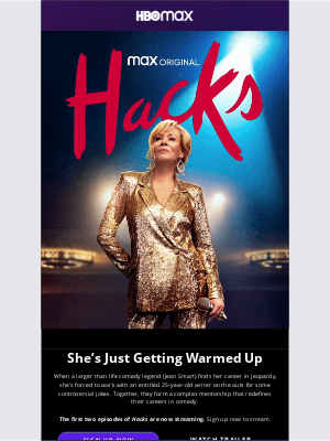 Series Premiere: Hacks, Starring Jean Smart