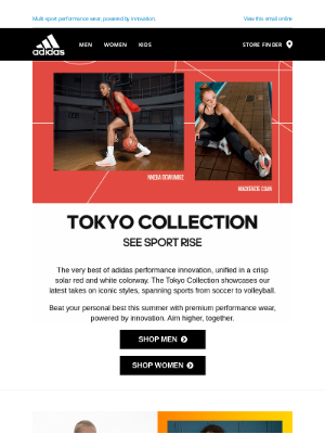 Adidas USA - The Tokyo Collection—for every sport, team, and athlete