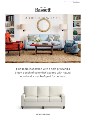 Bassett Furniture Industries - Hit Refresh with NEW Living