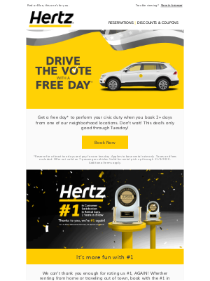 Hertz - It's your last chance!