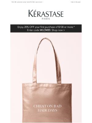 Kérastase - Flash Gift! Limited-Edition Fresh Affair Tote