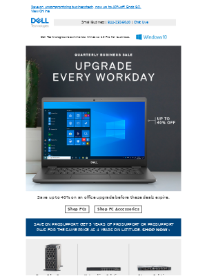 Quarterly Business Sale for small business | Your last chance to upgrade and save.
