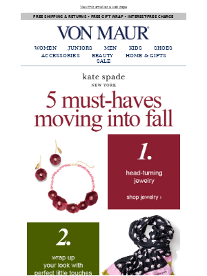 We ♥ kate spade new york!