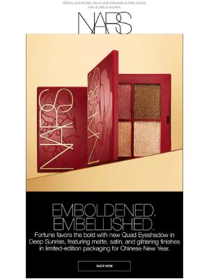 NARS Cosmetics - Limited-edition eyes, inside.