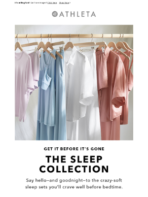 Athleta - Don't Miss Our Latest Sleep Collection
