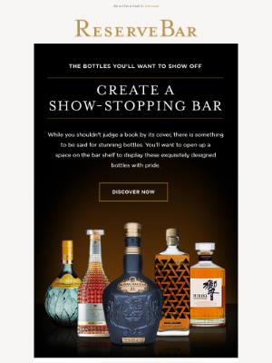 Reserve Bar - The Bottles Behind Stunning Home Bars