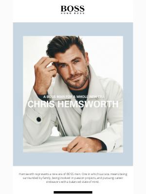 HUGO BOSS - The New Face of BOSS   Chris Hemsworth