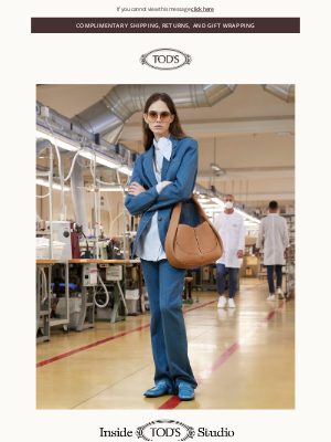 Inside Tod's Studio | Pre-Spring 2021 Collections