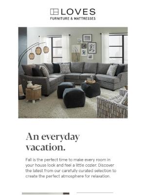 Art Van Furniture - This fall, make yourself at home.