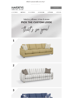 Havertys Furniture - The Choice Is Yours - Vote Now!