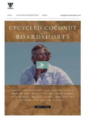 VISSLA - Upcycled Boardshorts Giveaway