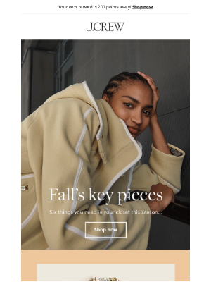 J.Crew Factory - 6 key pieces for fall
